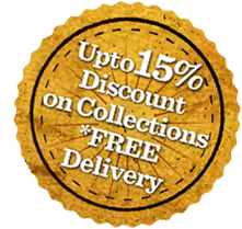 15% discount on collections